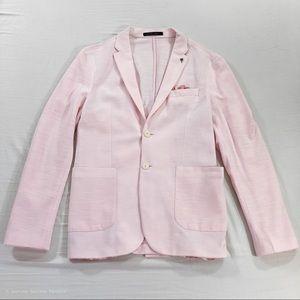NWOT Zara Pink Casual Blazer Jacket